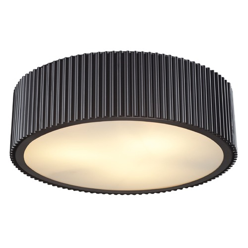 Elk Lighting Elk Lighting Brendon Oil Rubbed Bronze Flushmount Light 66419/3