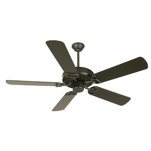 Craftmade Lighting Craftmade Lighting Cxl Flat Black Ceiling Fan Without Light K10956