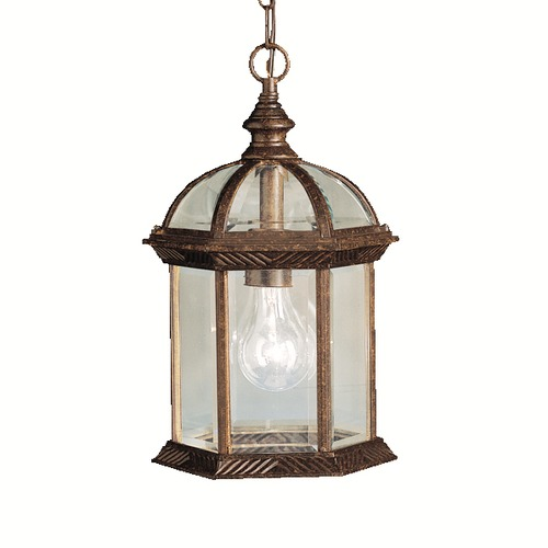 Kichler Lighting Kichler Lighting Barrie Tannery Bronze LED Outdoor Hanging Light 9835TZL16