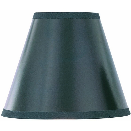 Lite Source Lighting Black Empire Lamp Shade with Clip-On Assembly CH572-6