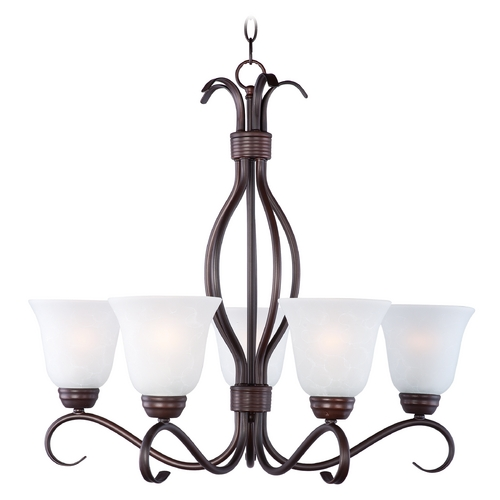 Maxim Lighting Maxim Lighting Basix Oil Rubbed Bronze Chandelier 10125ICOI