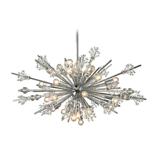 Elk Lighting Modern Pendant Light in Polished Chrome Finish 11752/24