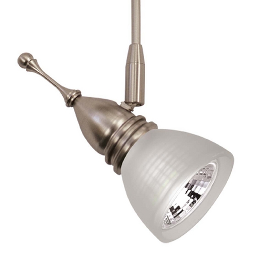 WAC Lighting Wac Lighting Americana Collection Brushed Nickel Track Light Head QF-188X3-BN