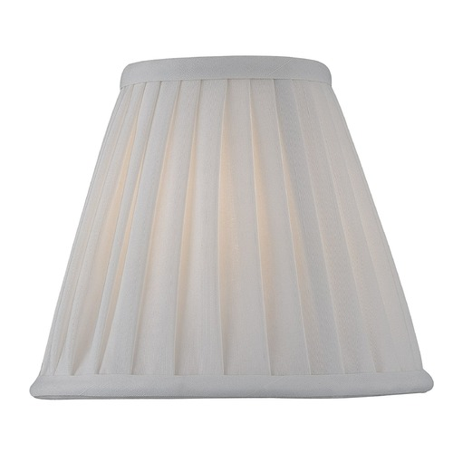 Lite Source Lighting Pleated White Empire Lamp Shade with Clip-On Assembly CH5177-6/2PK