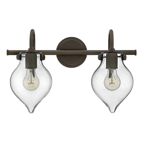 Hinkley Lighting Hinkley Lighting Congress Oil Rubbed Bronze Bathroom Light 50027OZ