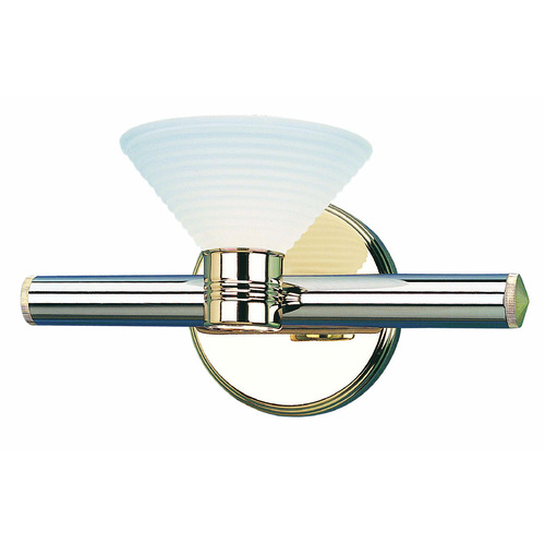 Lite Source Lighting Lite Source Regal Chrome Sconce LS-1123