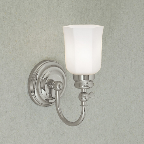 Norwell Lighting Norwell Lighting Emily Chrome Sconce 8911-CH-HXO