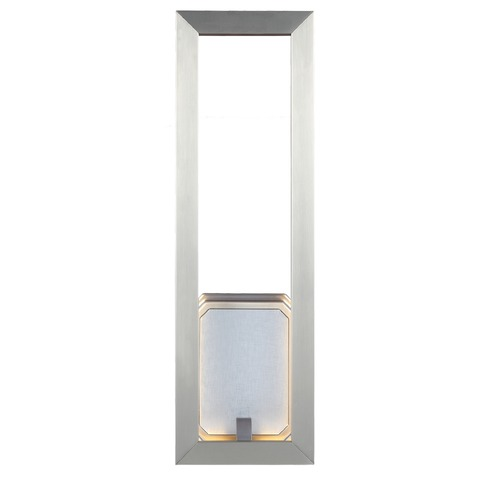 Feiss Lighting Feiss Lighting Khloe Satin Nickel LED Sconce WB1776SN