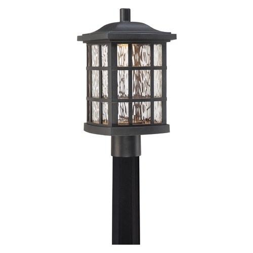 Quoizel Lighting Quoizel Lighting Stonington LED Matte Black Post Light SNNL9009K