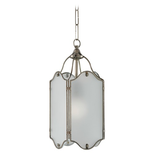 Currey and Company Lighting Currey and Company Volta Antique Silver Pendant Light 9000-0019
