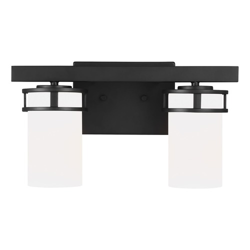Sea Gull Lighting Sea Gull Lighting Robie Midnight Black Bathroom Light 4421602-112