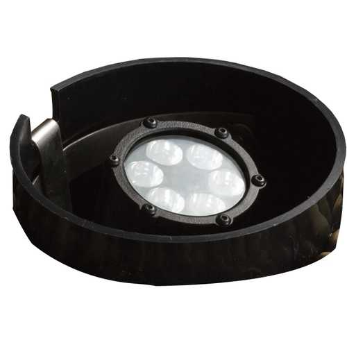 Kichler Lighting Kichler LED In-Ground Well Light in Textured Black Finish 15748BKT