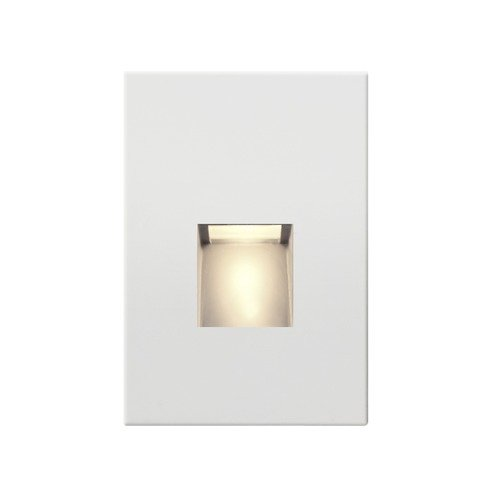 Recesso Lighting by Dolan Designs White LED Recessed Step Light 2700K 39 Lumens STEPLT01-WH