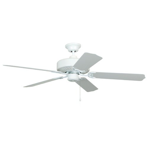 Craftmade Lighting Craftmade 52-Inch White Outdoor Ceiling Fan without Light END52WW5P