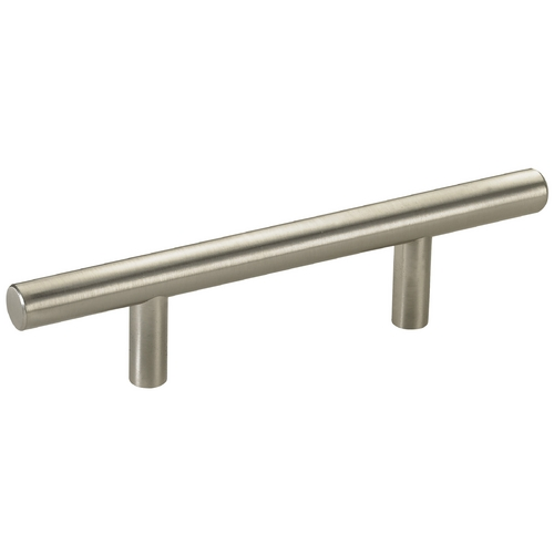 Seattle Hardware Co Satin Nickel Cabinet Pull - 3-inch Center to Center HW3-6-09