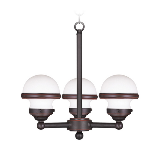 Livex Lighting Livex Lighting Oldwick Olde Bronze Mini-Chandelier 5703-67