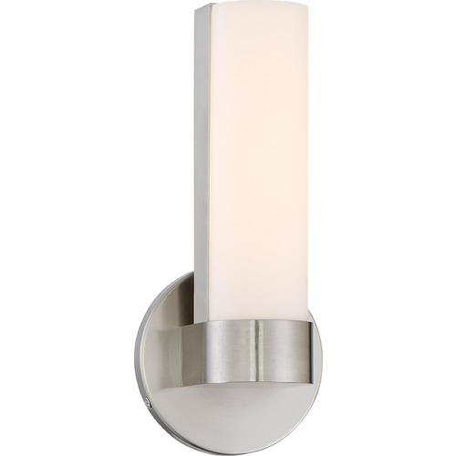 Nuvo Lighting Nuvo Lighting Bond Brushed Nickel LED Sconce 62/731