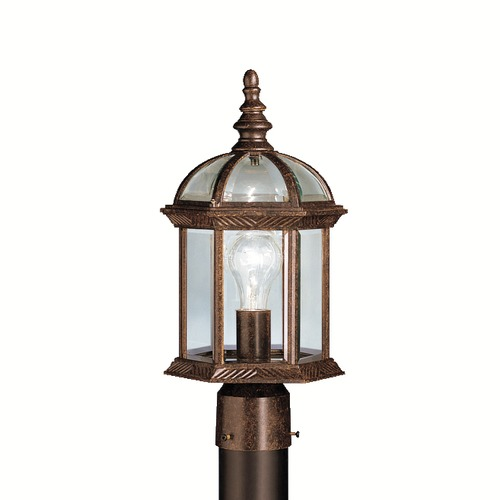 Kichler Lighting Kichler Lighting Barrie Tannery Bronze LED Post Light 9935TZL16