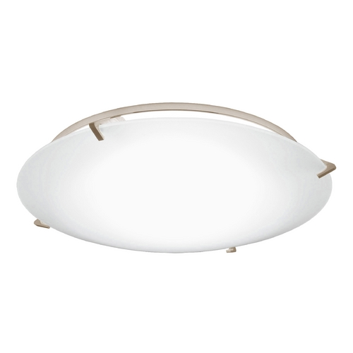 Recesso Lighting by Dolan Designs Decorative Ceiling Trim with Frosted Glass for 5 and 6 Inch Recessed Housings 10495-09