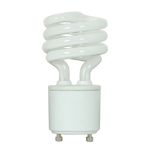 Satco Lighting Compact Fluorescent Spiral Light Bulb GU24 Base 2700K 120V by Satco Lighting S5301