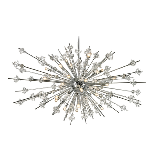 Elk Lighting Modern Pendant Light in Polished Chrome Finish 11754/31