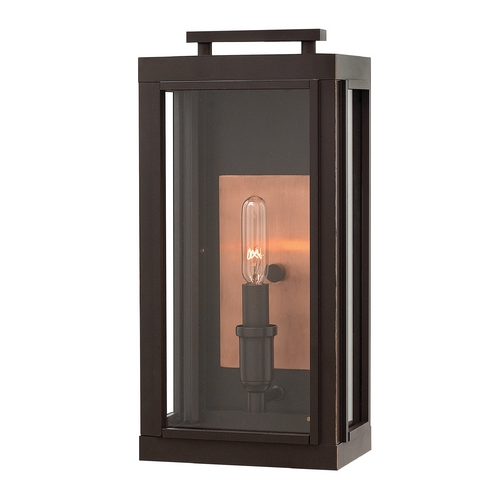 Hinkley Lighting Hinkley Lighting Sutcliffe Oil Rubbed Bronze Outdoor Wall Light 2910OZ