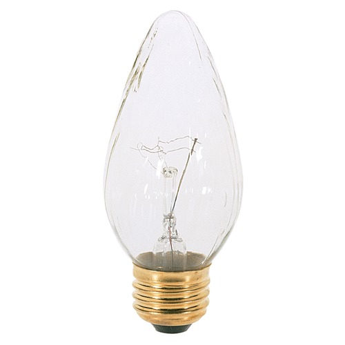Satco Lighting Incandescent F15 Light Bulb Medium Base 120V Dimmable by Satco S3364