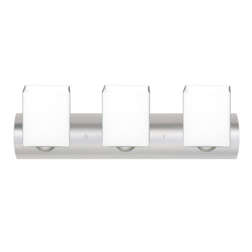 Besa Lighting Besa Lighting Rise Satin Nickel LED Bathroom Light 3WZ-449807-LED-SN