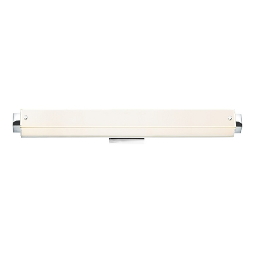 Sonneman Lighting Sonneman Lighting Parallel Polished Chrome LED Bathroom Light 3862.01LED