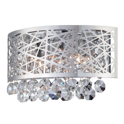 Lite Source Lighting Lite Source Lighting Benedetta Chrome Sconce EL-10102