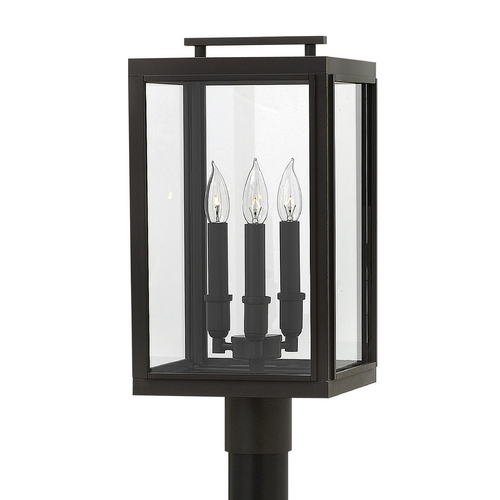 Hinkley Lighting Hinkley Lighting Sutcliffe Oil Rubbed Bronze Post Light 2911OZ