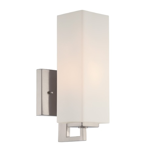 Lite Source Lighting Lite Source Cairbre Polished Steel Sconce LS-16670PS/FRO