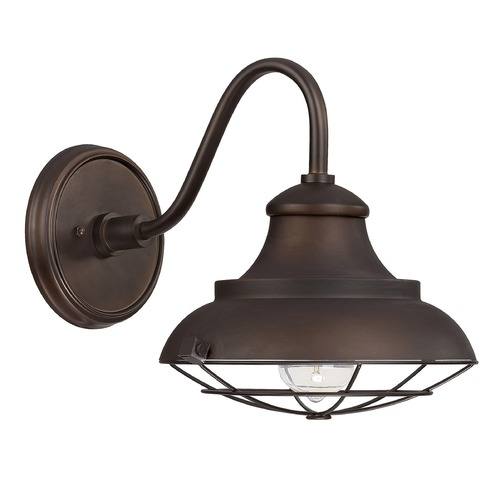 Capital Lighting Capital Lighting Outdoor Burnished Bronze Outdoor Wall Light 4561BB