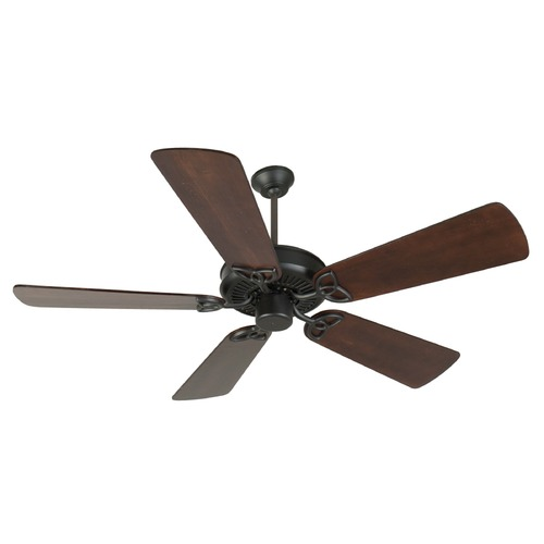 Craftmade Lighting Craftmade Lighting Cxl Flat Black Ceiling Fan Without Light K10960