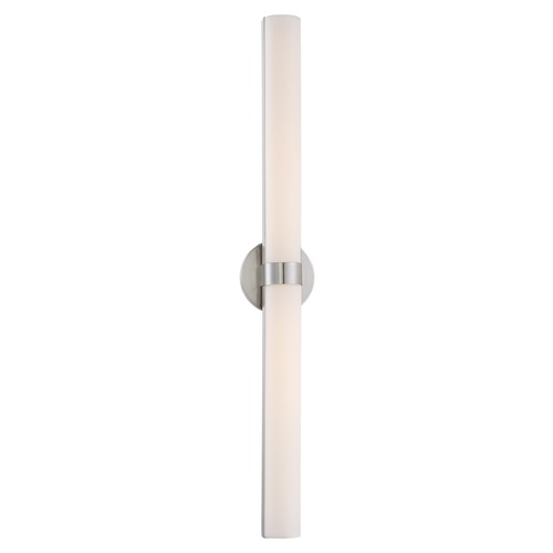Nuvo Lighting Bond Brushed Nickel LED Bathroom Light - Vertical Mounting Only 62/734
