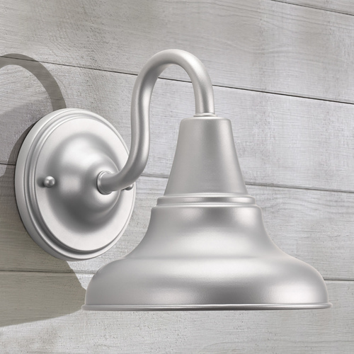 Progress Lighting Farmhouse Barn Light Outdoor Wall Light Gray District by Progress Lighting P5622-82