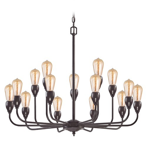 Elk Lighting Elk Lighting Vernon Oil Rubbed Bronze Chandelier 31984/10+5
