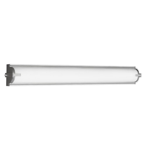 Sea Gull Lighting Sea Gull Lighting Braunfels Satin Aluminum LED Vertical Bathroom Light 4635793S-04