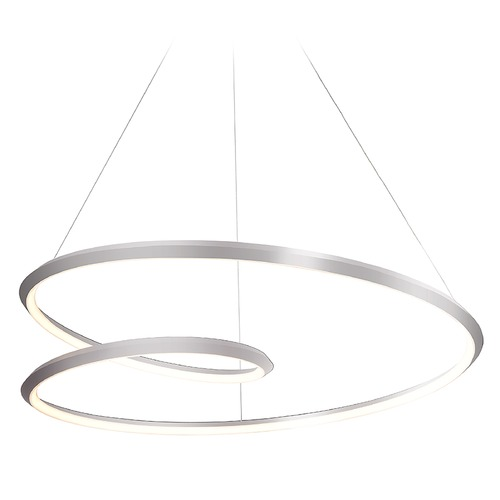 Kuzco Lighting Kuzco Lighting Ampersand Brushed Nickel LED Pendant Light PD22332-BN