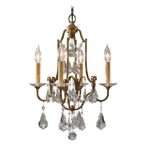 Feiss Lighting Feiss Lighting Valentina Oxidized Bronze Chandelier F2480/4OBZ
