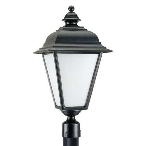 Black Outdoor Post Light 89322Pble12