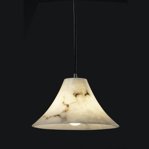 Justice Design Group Justice Design Group Lumenaria Collection Mini-Pendant Light FAL-8860-20-ABRS