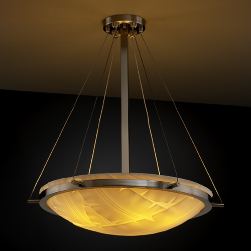 Justice Design Group Justice Design Group Porcelina Collection Pendant Light PNA-9692-35-BANL-NCKL