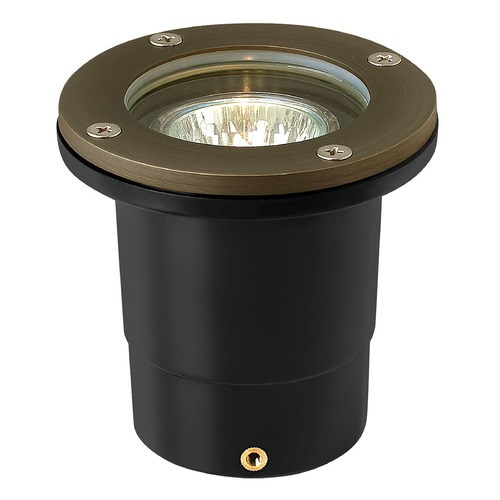 Hinkley In-Ground Well Light in Matte Bronze Finish 16701MZ