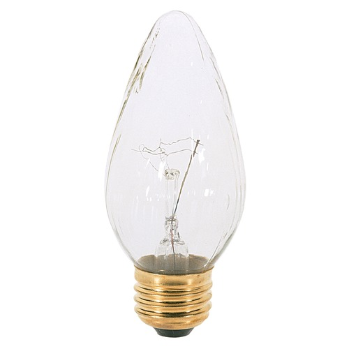 Satco Lighting Incandescent F15 Light Bulb Medium Base 120V Dimmable by Satco S3365