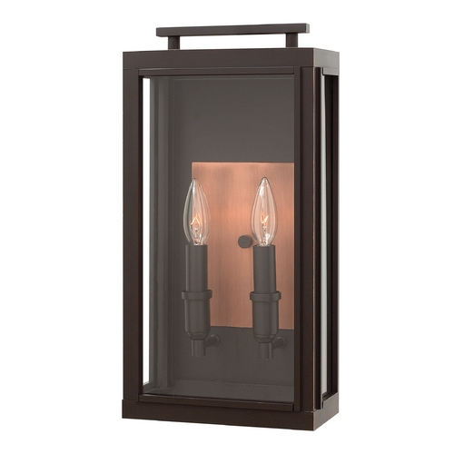 Hinkley Lighting Hinkley Lighting Sutcliffe Oil Rubbed Bronze Outdoor Wall Light 2914OZ