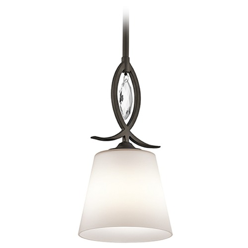 Kichler Lighting Kichler Lighting Casilda Mini-Pendant Light with Coolie Shade 43568OZ
