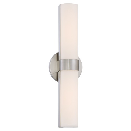 Nuvo Lighting Bond Brushed Nickel LED Bathroom Light - Vertical Mounting Only 62/732