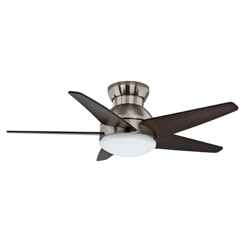 Casablanca Fan Co Casablanca Fan Isotope Brushed Nickel Ceiling Fan with Light 59019