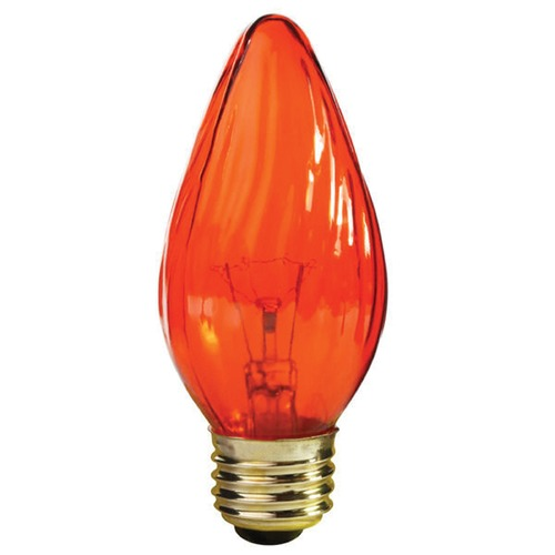 Satco Lighting Incandescent Flame Light Bulb Medium Base Dimmable S3366